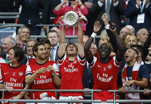 Arsenal, The 2014 FA Cup Winner